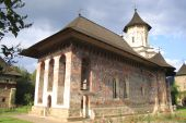 picture of suceava  - The Moldovita Monastery is one of Romanian Orthodox monasteries in southern Bucovina - JPG