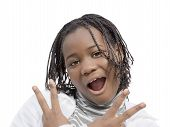 picture of ten years old  - Young Afro beauty - JPG