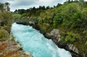 Visitors at Huka Falls Taupo New Zealand