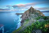 foto of cliffs  - Cape Point South Africa as time stands still  - JPG