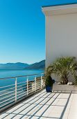 foto of penthouse  - beautiful terrace of a penthouse - JPG