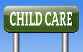 pic of babysitting  - child care or protection in daycare or cr - JPG