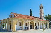 picture of larnaca  - The Saint George Kontos church is the pearl of medieval architecture of Cyprus Larnaca Cyprus - JPG