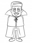 stock photo of dracula  - Dracula Editable Vector Art and Illustration Design - JPG