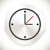 foto of analog clock  - Wall clock icon - JPG