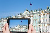 stock photo of winter palace  - travel concept  - JPG