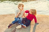 image of pullovers  - Two kids - JPG