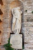 image of beheaded  - Roman statue at the entrance of Dalt Vila in Ibiza Town - JPG
