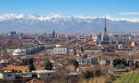 picture of mole  - Wonderful landscape view of the city of Turin - JPG