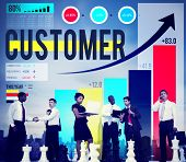 pic of loyalty  - Customer Client Consumer Satisfaction Service Loyalty Concept - JPG