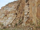 foto of bohemia  - view stone quarry South Bohemia Czech Republic - JPG