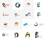 picture of universal sign  - Abstract company logo mega collection - JPG