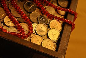 pic of dirhams  - Charity during holy month of Ramadan - JPG