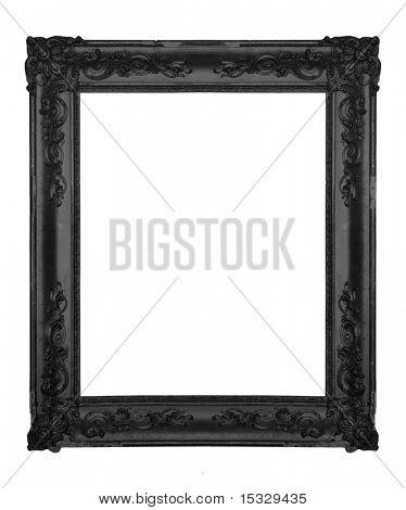 Vintage black ornate frame Poster ID:15329435