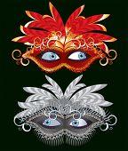 foto of masquerade mask  - Mask  - JPG