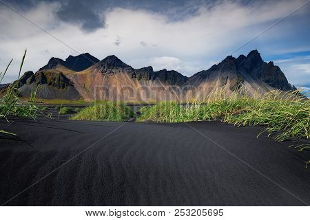 Vestrahorn Stockknes Mountain Range batman