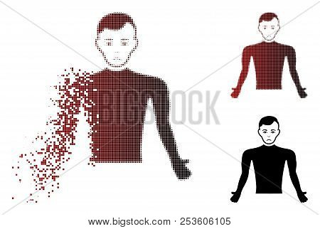 Dolor Guy Body Icon In