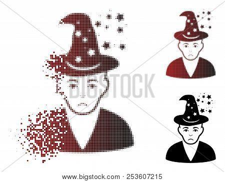 Dolor Magic Master Icon In
