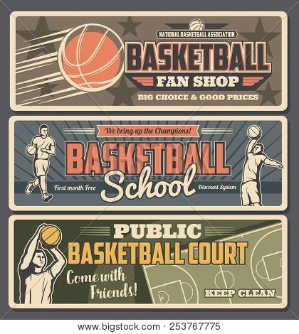 Basketball School Or Shop With