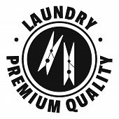 Laundry Premium Quality Logo. Simple Illustration Of Laundry Premium Quality Logo For Web Design Iso poster