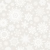 Seamless snowflakes pattern for continuous replicate. See more seamlessly backgrounds in my portfoli