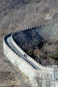 picture of zedong  - A curving section of The Great Wall of China - JPG