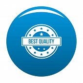 Quality Logo. Simple Illustration Of Quality Logo For Web poster