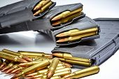 Full Metal Jacket Ammunition With Magazines poster