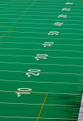 pic of football field  - full right side field view of a football field - JPG
