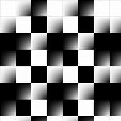 Abstract 3d Checkerboard