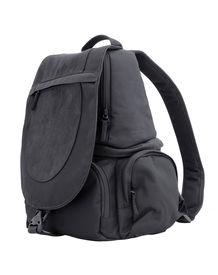 stock photo of sling bag  - black sling bag isolated on white background - JPG