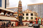 Sri Mariamman Temple In Chinatown District, Singapore