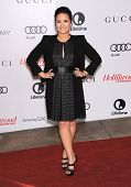 LOS ANGELES - DEC11:  Demi Lovato arrive to Women in Entertainment Breakfast 2013  on December 11, 2