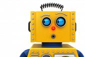 pic of shock awe  - Toy robot looking to the left - JPG