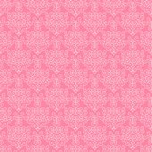 picture of wedding invitation  - Pink and White Ornate Vintage Patterned Background or Wallpaper - JPG
