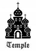 Постер, плакат: Temple icon