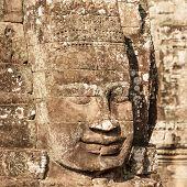 foto of mural  - Angkor Wat Cambodia - JPG