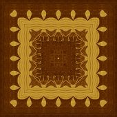 picture of marquetry  - Seamless background - JPG