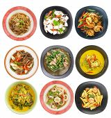 pic of thai food  - Food set  - JPG