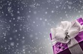 foto of white purple  - Christmas or Valentine - JPG