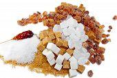 stock photo of white sugar  - Granulated sugar - JPG