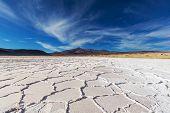 pic of salt mine  - Salt desert in the Jujuy Province - JPG