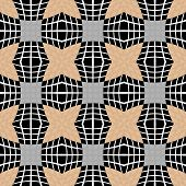 foto of quadrangles  - Design seamless checked pattern - JPG