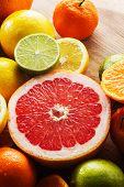 image of clementine-orange  - Healthy breakfast - JPG