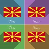 picture of macedonia  - Flags of Macedonia - JPG