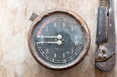 picture of manometer  - Manometer - JPG