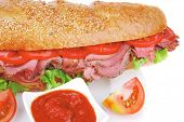 image of french curves  - french sandwich  - JPG