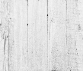 stock photo of wood  - wood planks white textured background - JPG