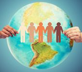 stock photo of continent  - people - JPG