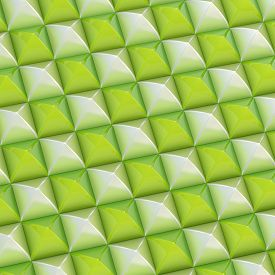 stock photo of pyramid shape  - Abstract background made of surface covered with square shaped pyramid blocks - JPG